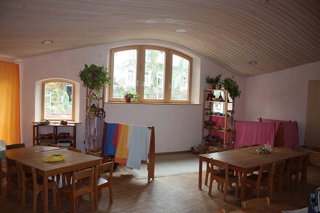 der aktuelle stand des kindergartens in aschaffenburg architekturb ro sonne frederiksen. Black Bedroom Furniture Sets. Home Design Ideas